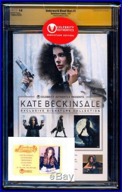 Underworld Blood Wars #1 CA Variant SS CGC 9.8 Kate Beckinsale Signature Series