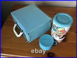 Vintage Wonder Woman Lunchbox And Thermos