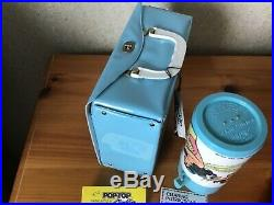 Vintage Wonder Woman Lunchbox And Thermos Unused With Papers