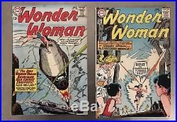 WONDER WOMAN (1942) comic book (LOT OF 10) ranging from # 127- 140 Make Offer