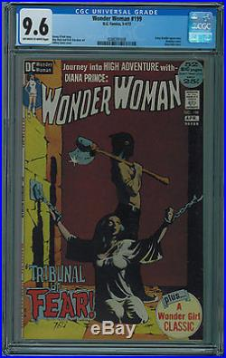 WONDER WOMAN #199 CGC 9.6 BONDAGE COVER HIGH GRADE OWithW PAGES BRONZE AGE