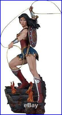 WONDER WOMAN 19 Exclusive Premium Format Statue (Sideshow Collectibles) #NEW