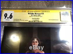 WONDER WOMAN # 31 NYCC Photo Variant CGC SS 9.6 SIGNED by WW GAL GADOT