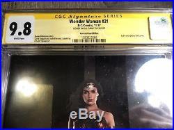 WONDER WOMAN # 31 NYCC Photo Variant CGC SS 9.8 SIGNED by WW GAL GADOT