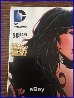 Wonder Woman #38 Finch 1100 Color Variant New Movie Hot Issue Vhtf Very Rare