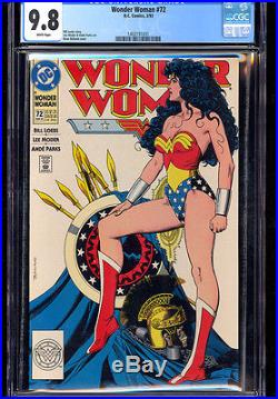 Wonder Woman #72 (1993) Cgc 9.8 Wp Bolland Cover