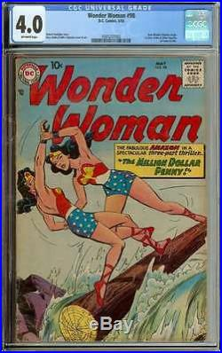 Wonder Woman #98 Cgc 4.0 Ow Pages