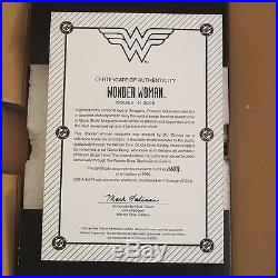 WONDER WOMAN Maquette NEW & MINT! Warner Bros #1489/2500 withbox, Statue from 2000