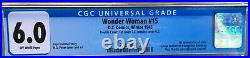 Wonder Woman #15 (1945) CGC 6.0 - Double Cover 1st app. Of Solo H. G. Peter