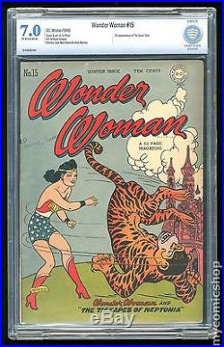Wonder Woman (1942-1986 1st Series DC) #15 CBCS 7.0