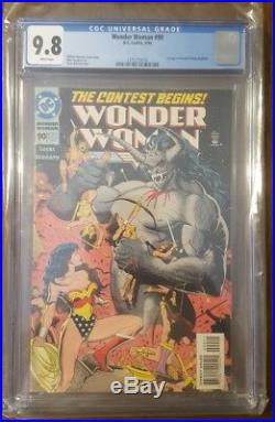Wonder Woman (1987 2nd Series) #90 CGC 9.8 DC KEY 1st appearance of Artemis
