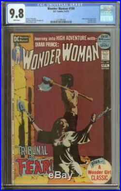 Wonder Woman #199 Cgc 9.8 White Pages