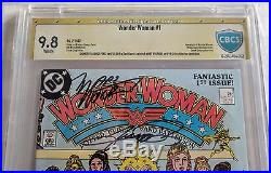 Wonder Woman #1 1987 Cbcs (cgc) Ss 9.8 Signed Perez & Wolfman Only One On Ebay
