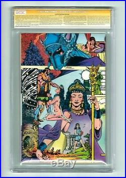 Wonder Woman #1 CGC SS 9.6 George Perez Who is Retiring from Comics! Movies