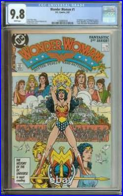 Wonder Woman #1 Cgc 9.8 White Pages ID 12017