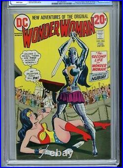 Wonder Woman #204 CGC 8.0 White Pages 1st Nubia