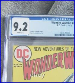 Wonder Woman #204 CGC 9.2 White Pages 1st Nubia