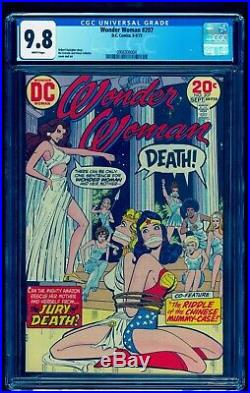 Wonder Woman 207 Cgc 9.8 White Pages Bondage Cover See Our 209 210 212 213