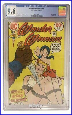 Wonder Woman #209 CGC GRADED 9.6 second highest graded bondage cover