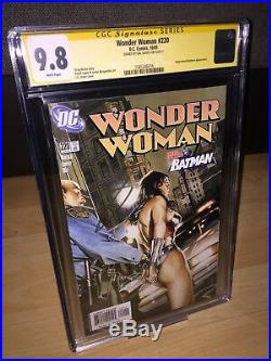 Wonder Woman #220 (2005) Signed by Gal Gadot CGC SS 9.8! Justice League! DC! Hot