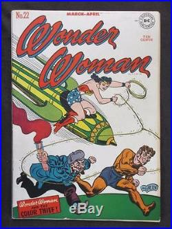 Wonder Woman #22 -HIGH GRADE- DC 1947 Golden Age Check out our Comics Books