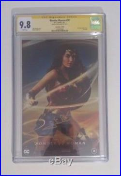 Wonder Woman #26 Photo Variant CGC 9.8 Signed by Gal Gadot