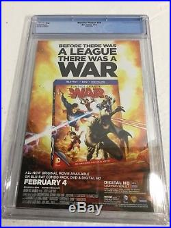 Wonder Woman 28 Cgc 9.6 White Pages Steampunk Varant Cover New 52