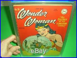 Wonder Woman 30 CGC 6.0 1948 Off White Pages Old Blue Label! CGC not CBCS DC