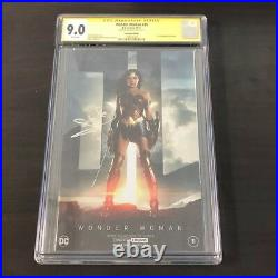 Wonder Woman #31 NYCC 2017 Foil Variant CGC SS 9.0 signed by Gal Gadot