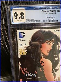 Wonder Woman #38 Cgc 9.8 Nm/mt 1/100 David Finch Variant Cover