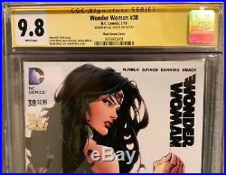 Wonder Woman #38 Finch Variant CGC SS 9.8 signed by Gal Gadot