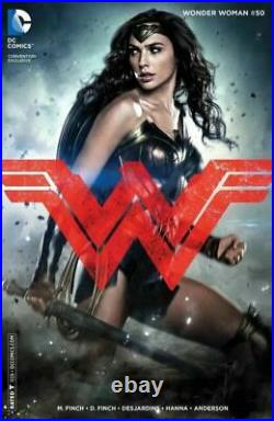 Wonder Woman #50 Gal Gadot photo cover variant NM- or better