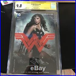 Wonder Woman #50 Photo Cover Variant CGC 9.8 SS Signed by GAL GADOT BVS