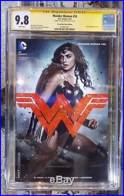 Wonder Woman #50 WonderCon Photo Exclusive CGC 9.8 SS Signed by Gal Gadot @