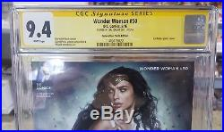 Wonder Woman #50 Wondercon Photo Variant Cover CGC 9.4 SS Signed by Gal Gadot @