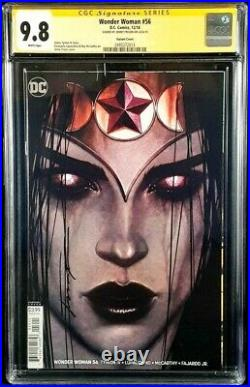 Wonder Woman #56 Cgc Ss 9.8 Jenny Frison Variant Witching Hour Justice League