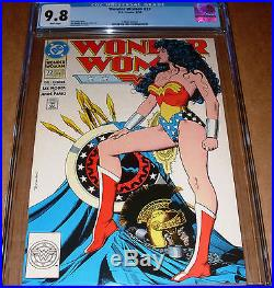 Wonder Woman #72 CGC 9.8 Classic Brian Bolland cover DC 1993 White Pages Movie