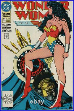 Wonder Woman #72 NM Statue Iconic Cover Brian Bolland Key Issue 1993 Comic Book