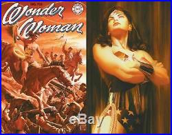 Wonder Woman #750 Alex Ross Cover A & B Variant 2-comic Set Homage Nm (in-hand)