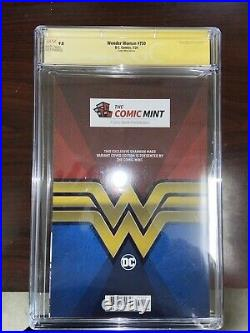 Wonder Woman #750 Shannon Maer Variant CGC 9.8 SS Signed by Shannon Maer