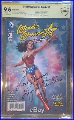 Wonder Woman'77 Special #1 CBCS 9.6 SS Signed by Lynda Carter not CGC