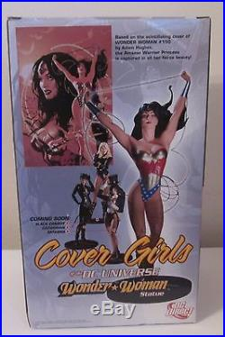 Wonder Woman Cover Girls of the DC Universe Statue Adam Hughes DC Direct 3538