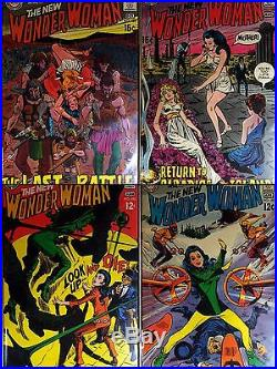 Wonder Woman DC Collection Of 43 Vf/nm Comic Books #174 #220 One Time Offering