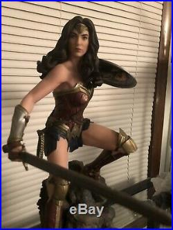 Wonder Woman Premium Format Statue Sideshow Batman Vs Superman Dawn Of Justice