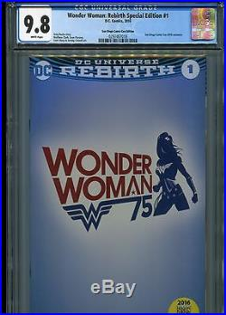 Wonder Woman Rebirth Special Edition #1 CGC 9.8 WP (SDCC 2016 exclusive)