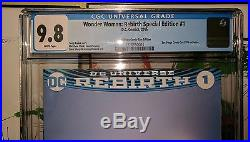 Wonder Woman Rebirth Special Edition #1 CGC NM 9.8 WP (SDCC 2016 exclusive)