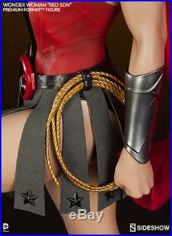 Wonder Woman Red Son Premium Format Figure by Sideshow Collectibles