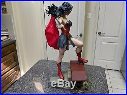 Wonder Woman Red Son Premium Format Sideshow Collectibles DC Comic #944/1250