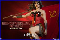 Wonder Woman Red Son Premium Format Statue Sideshow Collectibles