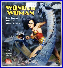 Wonder Woman Statue DC Collectibles Adam Hughes Direct Serpents Hydra Full Size